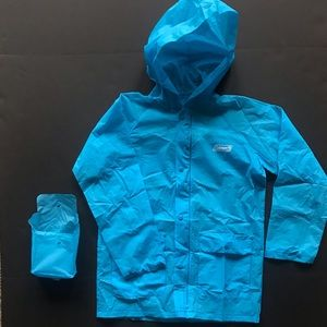 Youth Coleman Raincoat Poncho Portable Size S/M